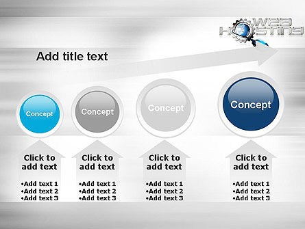 Web Hosting Theme PowerPoint Template Slide 13