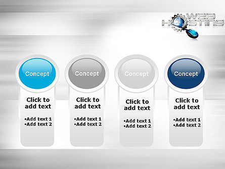 Web Hosting Theme PowerPoint Template Slide 5