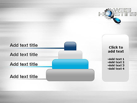 Web Hosting Theme PowerPoint Template Slide 8