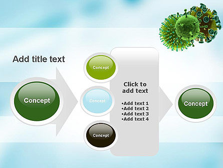 HIV Virus PowerPoint Template Slide 17