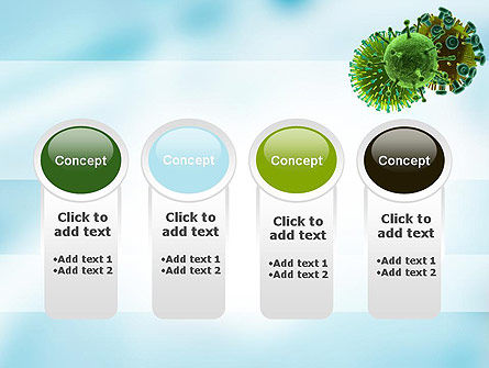 HIV Virus PowerPoint Template Slide 5
