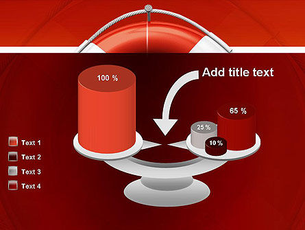 Lifebuoy PowerPoint Template Slide 10