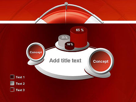 Lifebuoy PowerPoint Template Slide 16
