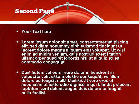 Lifebuoy PowerPoint Template Slide 2