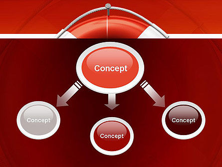 Lifebuoy PowerPoint Template Slide 4