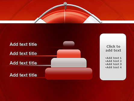 Lifebuoy PowerPoint Template Slide 8