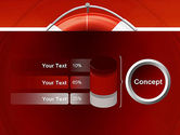 Lifebuoy PowerPoint Template#11