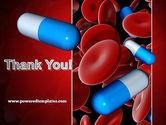Medicine in Blood PowerPoint Template#20