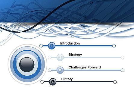 Fiber-Optical Cables PowerPoint Template, Slide 3, 11035, Telecommunication — PoweredTemplate.com