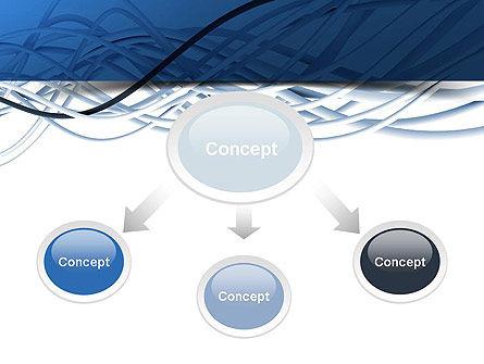 Fiber-Optical Cables PowerPoint Template, Slide 4, 11035, Telecommunication — PoweredTemplate.com