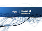 Telecommunication: Fiber-optische Kabels PowerPoint Template #11035