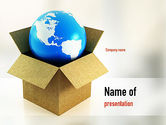 Careers/Industry: Global Supply PowerPoint Template #11037