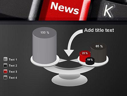 Online Newsletter PowerPoint Template Slide 10