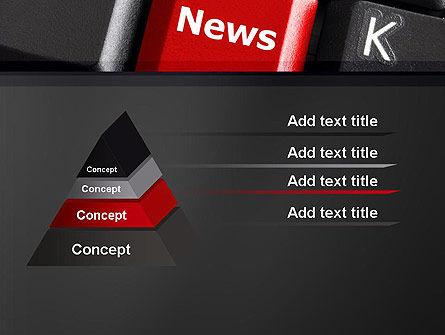 Online Newsletter PowerPoint Template Slide 12