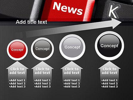 Online Newsletter PowerPoint Template Slide 13
