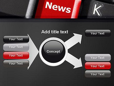 Online Newsletter PowerPoint Template Slide 14