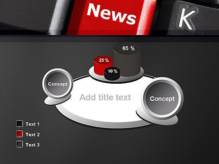 Online Newsletter PowerPoint Template Slide 16