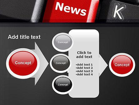 Online Newsletter PowerPoint Template Slide 17