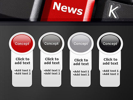 Online Newsletter PowerPoint Template Slide 5