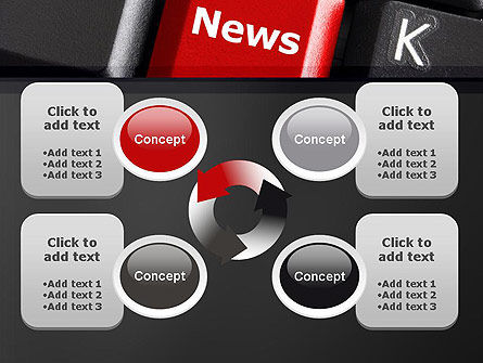 Online Newsletter PowerPoint Template Slide 9