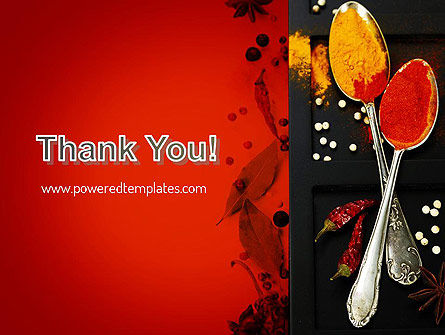 Bright Spices PowerPoint Template Slide 20