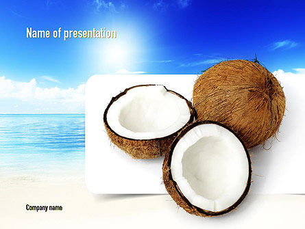 Coconut PowerPoint Template