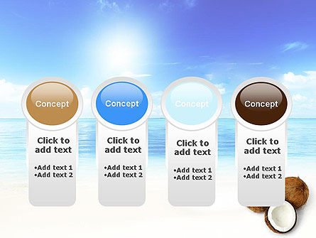 Coconut PowerPoint Template Slide 5