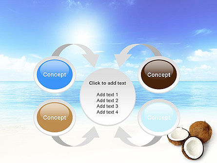 Coconut PowerPoint Template Slide 6
