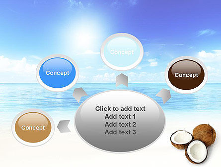 Coconut PowerPoint Template Slide 7