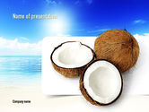 Careers/Industry: Coconut PowerPoint Template #11042
