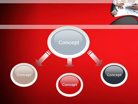 Working Process at Business Meeting PowerPoint Template Slide 4