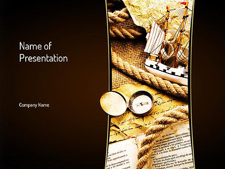 Careers/Industry: Traveling Theme PowerPoint Template #11046