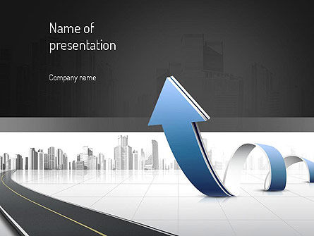 Construction: City Economy PowerPoint Template #11047