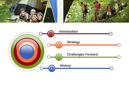 Summer Camp Fun PowerPoint Template Slide 3