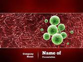 Medical: Germ PowerPoint Template #11050