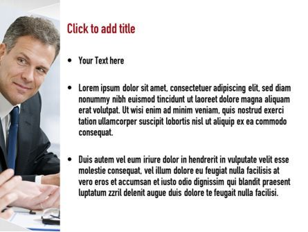 Financial Manager PowerPoint Template, Slide 3, 11051, Financial/Accounting — PoweredTemplate.com