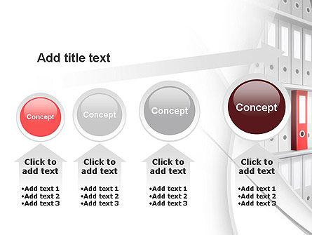 Archive Folder PowerPoint Template Slide 13