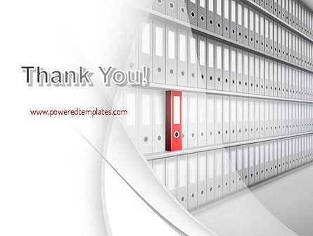Archive Folder PowerPoint Template Slide 20