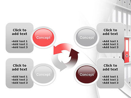 Archive Folder PowerPoint Template Slide 9