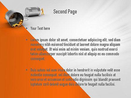 Reputation Management PowerPoint Template, Slide 2, 11054, Telecommunication — PoweredTemplate.com