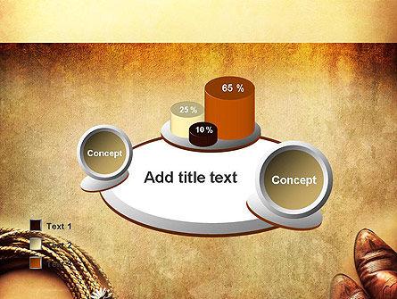 Cowboy Theme PowerPoint Template Slide 16