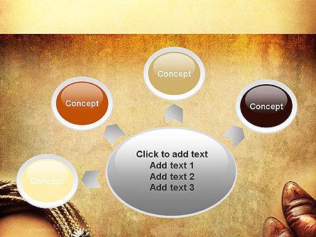 Cowboy Theme PowerPoint Template Slide 7