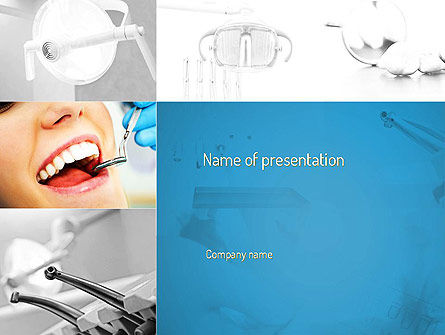 Medical: Dental Care PowerPoint Template #11057