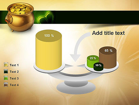Pot of Gold Coins PowerPoint Template Slide 10