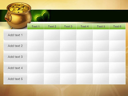 Pot of Gold Coins PowerPoint Template Slide 15