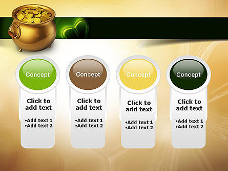Pot of Gold Coins PowerPoint Template Slide 5