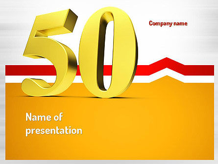 50 PowerPoint Template, 11062, Holiday/Special Occasion — PoweredTemplate.com
