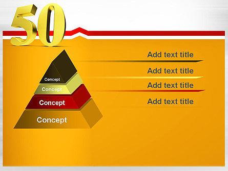 50 PowerPoint Template Slide 12