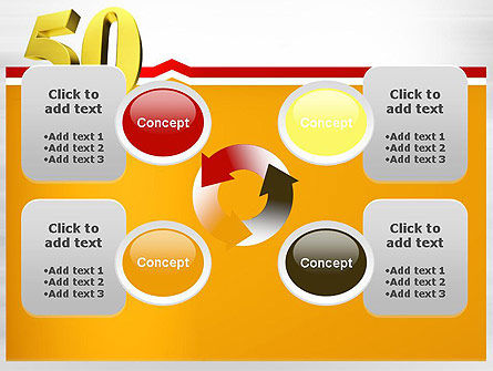 50 PowerPoint Template Slide 9