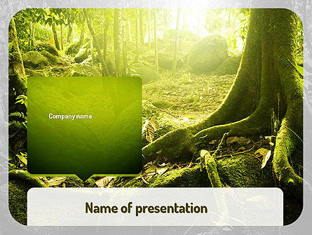 Nature & Environment: Jungles PowerPoint Template #11063